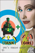"Movie Posters:Action, Tank Girl & Other Lot (United Artists, 1995). Rolled, Very Fine+. One Sheets (2) (27"" X 40"" & 26.75"" X 39.75"") DS Advance Da... (Total: 2 Items)"