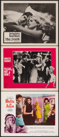 "Movie Posters:Foreign, Belle de Jour & Other Lot (Allied Artists, 1967). Very Fine. Lobby Cards (3) (11"" X 14""). Foreign.. ... (Total: 3 Items)"