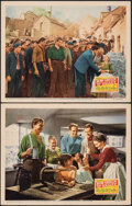 """Movie Posters:Academy Award Winners, How Green Was My Valley (20th Century Fox, R-1946). Very Fine-. Lobby Cards (2) (11"""" X 14""""). Academy Award Winners.. ... (Total: 2 Items)"""