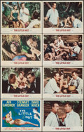 """Movie Posters:Comedy, The Little Hut (MGM, 1957). Very Fine. Lobby Card Set of 8 (11"""" X 14""""). Comedy.. ... (Total: 8 Items)"""