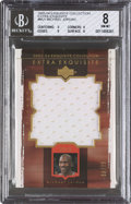 Basketball Cards:Singles (1980-Now), 2003-04 Exquisite Collection Extra Exquisite Michael Jordan 36/75 #EE-MJ1, BGS NM-MT 8....