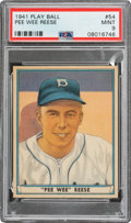 Baseball Cards:Singles (1940-1949), 1941 Play Ball Pee Wee Reese #54 PSA Mint 9 - Pop Two, None Higher....
