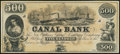 Obsoletes By State:Louisiana, New Orleans, LA- New Orleans Canal and Banking Company $500 18__ Remainder Choice Crisp Uncirculated.. ...