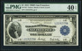 Large Size:Federal Reserve Bank Notes, Fr. 743 $1 1918 Federal Reserve Bank Note PMG Extremely Fine 40 EPQ.. ...