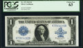 Large Size:Silver Certificates, Fr. 237 $1 1923 Silver Certificate PCGS Choice New 63.. ...