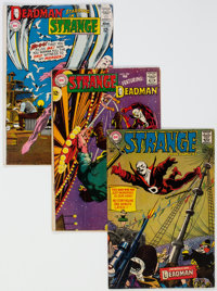 Strange Adventures/Showcase Group of 11 (DC, 1960s) Condition: Average GD/VG.... (Total: 11 Comic Books)
