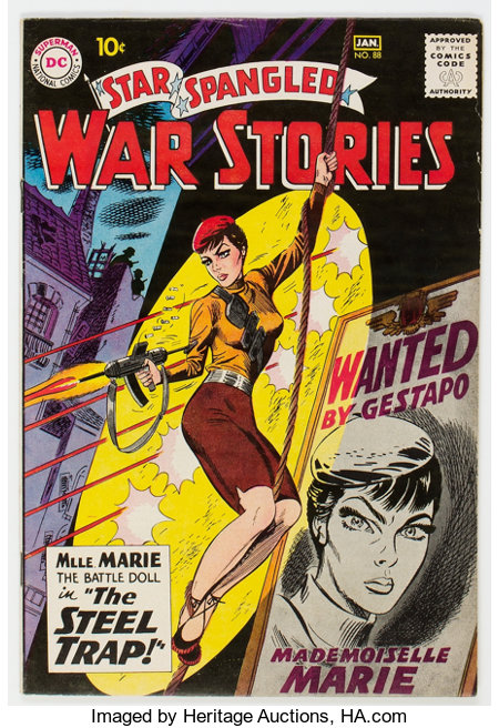 Star Spangled War Stories #88 (DC, 1959) Condition: FN/VF....