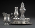 Silver & Vertu, A Group of Four Maison Cardeilhac French Silver Table Item...