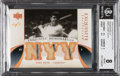 Baseball Cards:Singles (1970-Now), 2006 Exquisite Collection Babe Ruth (Memorabilia Game-Worn Relic) #BR2 BGS NM-MT 8 -#1/1! ...