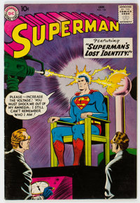 Superman #126 (DC, 1959) Condition: FN