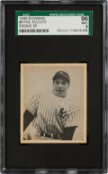 Baseball Cards:Singles (1940-1949), 1948 Bowman Phil Rizzuto SP #8 SGC 96 Mint 9 - Pop Three, None Higher! ...