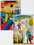 Silver Age (1956-1969):Superhero, Superman #168 and 170 Group (DC, 1964) Condition: Average VF.... (Total: 2 Comic Books)