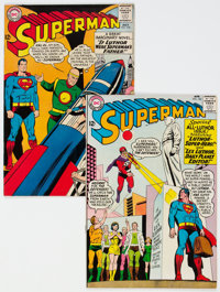 Superman #168 and 170 Group (DC, 1964) Condition: Average VF.... (Total: 2 Comic Books)
