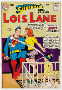 Superman's Girlfriend Lois Lane #10 (DC, 1959) Condition: FN/VF