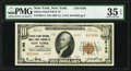 New York, NY - $10 1929 Ty. 2 Staten Island National Bank & Trust Company Ch. # 6198 PMG Choice Very Fine 35 EPQ...