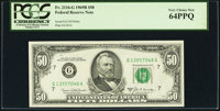 Fr. 2116-G $50 1969B Federal Reserve Note. PCGS Very Choice New 64PPQ