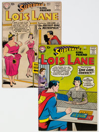 Superman's Girlfriend Lois Lane #5 and 6 Group (DC, 1958-59) Condition: VG+.... (Total: 2 Comic Books)