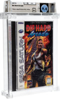 Video Games:Sega, Die Hard Arcade Wata 9.8 A+ Sealed Saturn Sega 1997 USA....