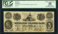 Georgetown, DC- Mechanics and Traders Bank $3 Nov. 14, 1852 PCGS Apparent Choice About New 58