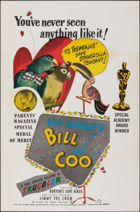 """Bill and Coo (Republic, R-1950s/1948). Folded, Very Fine-. One Sheet (27"""" X 41"""") & Lobby Card Set of 8 (11..."""