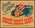 """Movie Posters:Musical, Yankee Doodle Dandy (Warner Bros., 1942). Fine+. Linen Finish Title Lobby Card (11"""" X 14""""). Musical.. ..."""