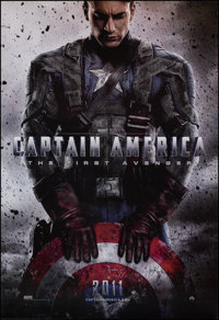"""Captain America: The First Avenger (Paramount, 2011). Rolled, Very Fine/Near Mint. One Sheet (27"""" X 40"""") DS Ad..."""