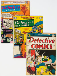 Detective Comics Group of 7 (DC, 1946-57).... (Total: 7 )