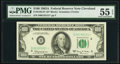 Fr. 2163-D* $100 1963A Federal Reserve Note. PMG About Uncirculated 55 EPQ