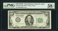 Small Size:Federal Reserve Notes, Fr. 2154-H $100 1934B Federal Reserve Note. PMG Choice About Unc 58 EPQ.. ...