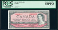 World Currency, Canada Bank of Canada $1000 1954 Pick 83d BC-44d PCGS Choice About New 58PPQ.. ...