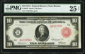 Fr. 892a $10 1914 Red Seal Federal Reserve Note PMG Very Fine 25 Net