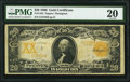 Large Size:Gold Certificates, Fr. 1184 $20 1906 Gold Certificate PMG Very Fine 20.. ...