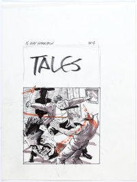 Mike Vosburg - Tales from the Crypt Preliminary Original Art (c. 1990s).... (Total: 22 Original Art)