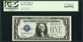 Small Size:Silver Certificates, Fr. 1601 $1 1928A Silver Certificate. PCGS Very Choice New 64PPQ.. ...