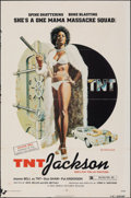 "Movie Posters:Blaxploitation, T.N.T. Jackson & Other Lot (New World, 1974). Folded, Fine+. One Sheets (2) (27"" X 41"" & 25"" X 38""). John Solie Artwork. Bla... (Total: 2 Items)"