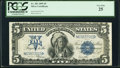Large Size:Silver Certificates, Fr. 281 $5 1899 Silver Certificate PCGS Very Fine 25.. ...