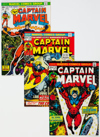 Captain Marvel Group of 25 (Marvel, 1973-79) Condition: Average NM-.... (Total: 25 Comic Books)