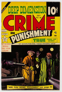 Crime and Punishment #68 (Lev Gleason, 1954) Condition: FN-