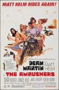 """Movie Posters:Action, The Ambushers (Columbia, 1967). Folded, Fine/Very Fine. One Sheet (27"""" X 41""""). Robert McGinnis Artwork. Action.. ..."""