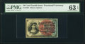 Fr. 1259 10¢ Fourth Issue PMG Choice Uncirculated 63 EPQ