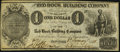 New York, NY- Red Hook Building Company $1 Jan. 8, 1838 About Uncirculated