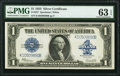 Fr. 237 $1 1923 Silver Certificate PMG Choice Uncirculated 63 EPQ