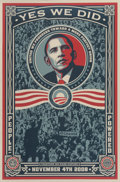Prints & Multiples, After Shepard Fairey Yes We Did, 200...