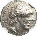 Ancients:Greek, Ancients: PTOLEMAIC EGYPT. Ptolemy II Philadelphus (285/4-246 BC). AR stater or tetradrachm (26mm, 11h). NGC Choice XF....