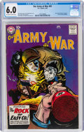 Silver Age (1956-1969):War, Our Army at War #81 (DC, 1959) CGC FN 6.0 Off-white to white pages....