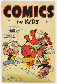 Comics for Kids #1 (Timely, 1945) Condition: VG+