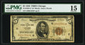 Fr. 1850-G* $5 1929 Federal Reserve Bank Note. PMG Choice Fine 15