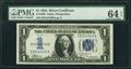Small Size:Silver Certificates, Fr. 1606 $1 1934 Silver Certificate. PMG Choice Uncirculated 64 EPQ.. ...