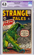 Silver Age (1956-1969):Adventure, Strange Tales #89 (Marvel, 1961) CGC Apparent VG 4.0 Slight (C-1) Off-white to white pages....