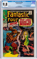 Silver Age (1956-1969):Superhero, Fantastic Four #66 (Marvel, 1967) CGC NM/MT 9.8 White pages....